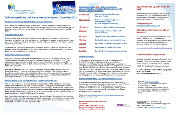 thumbnail of Issue 5 PA Newsletter Dec 2013